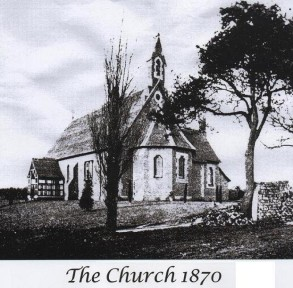 All Saints Church Mudeford church 1870