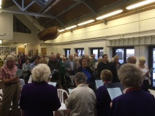 Songs of Praise at the Lifeboat House