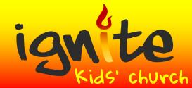 Ignite logo fire